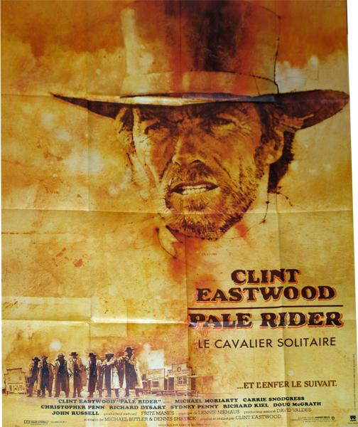 Pale Rider - Affiches de cinéma de la collection EricBad