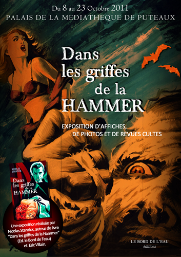 Exposition au Palais de la Médiathèque de Puteaux - octobre 2011