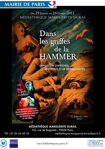 Affiche de l'exposition Marguerite Duras