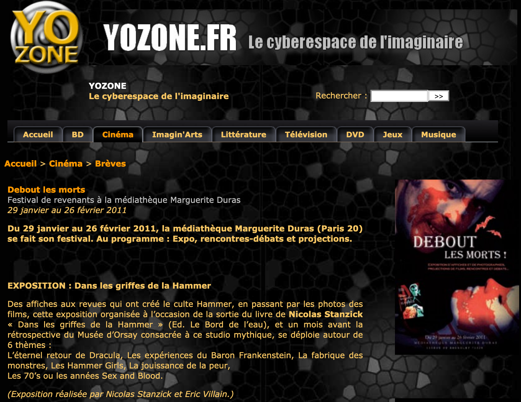 Yozone FR article 2011