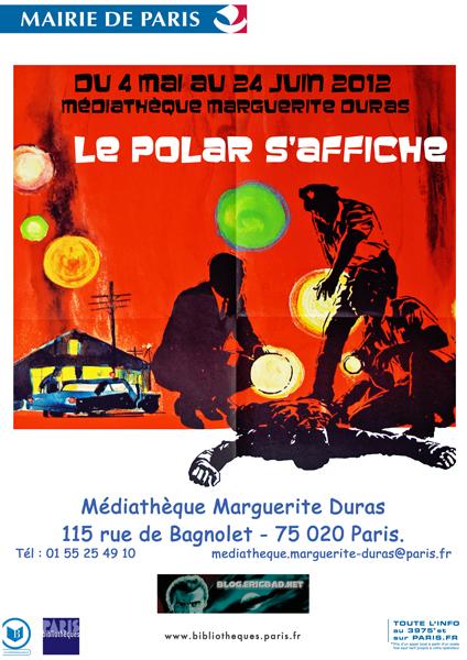 Affiche du Polar s'affiche à Marguerite Duras